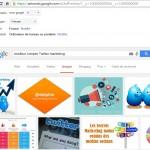 meilleur compte twitter marketing dans google images